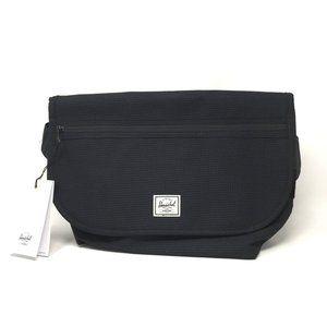 Herschel Grade Mid Black Messenger Bag 12 L New